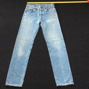 Vintage 80-90's Levi 501 jeans LONG LEG SMALL SIZE
